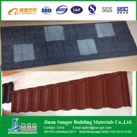 100%Payment Protection Stone Coated Metal Roof Tile with Factory Price