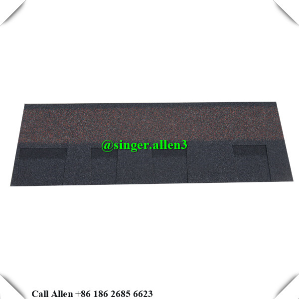 Laminated architectural roof shingle Dark colors for building materials