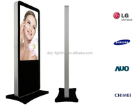 42 Inch Interactive Floor Standing LCD Digital Signage