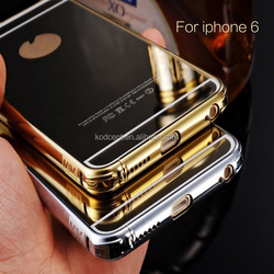 Luxury Aluminum Ultra-thin Mirror Metal Case Cover for iPhone 6,For iPhone 6s