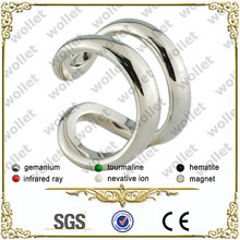 2014 new product stainless steel gear ring & moroccan wedding rings