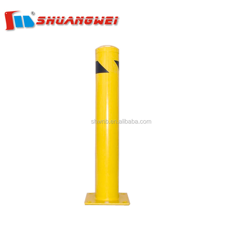 Low MOQ Factory competive price Yellow Steel Pipe Bollard