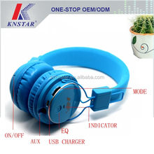 Wireless bluetooth headphone with built in mp3 player and FM radio Q8-851S