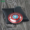 Ceramic bearing 4 to 6 minutes Captain America hand finger spinner metal fidget spinners