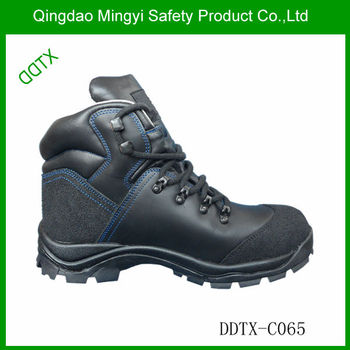 DDTXC065 tough pu/rubber outsole heel energy absorption safety shoes