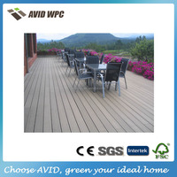 home depot prefab houses/ composite deck board / wpc wood plastic composite decking