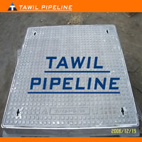 Weight Ductile Iron Manhole Cover D400