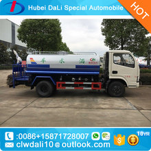 dongfeng 4*2 small water truck/3400L drinking water tank truck