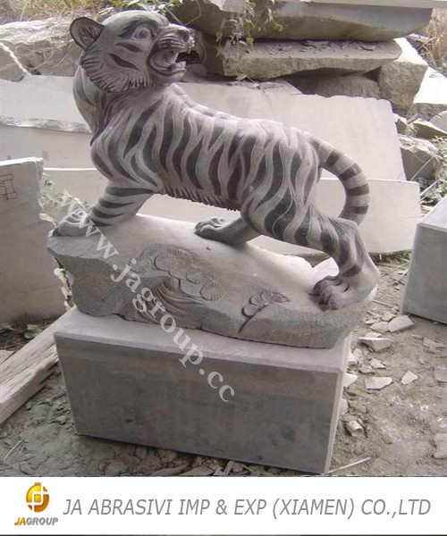 Natural stone sculpture for outdoor JAG stone