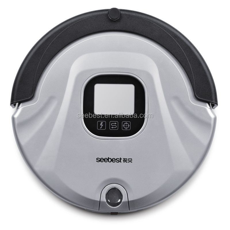 C565 Seebest Robot Vacuum Cleaner/Sweeper with Automatic Clean on Home Hard Floor and Thin Carpet, OEM Orders Welcomed