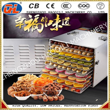 commercial 10 Tray Stainless Steel Food Jerky Fruit Dehydrator dryer
