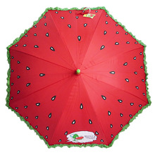Unique designed watermelon personalized kids umbrella