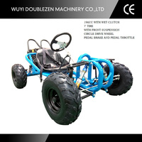Single person racing cheap 196cc Mini Go Kart for sale