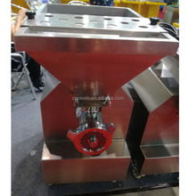800kg/h Vertical Automatic Stainless steel Industrial Frozen Meat grinder Price