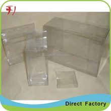 offset printed reliable custom print tin large clear hard plastic pvc box