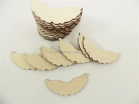 2016 Peg Doll Angel Wings Unfinished Laser Cut Wood Wings Fits made in China