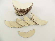 2017 Peg Doll Angel Wings Unfinished Laser Cut Wood Wings Fits made in China