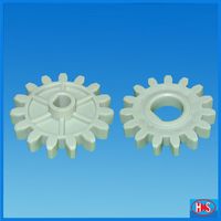 High precision PCB transimission parts plastic spur gear ring gear wheel plastic tooth gear