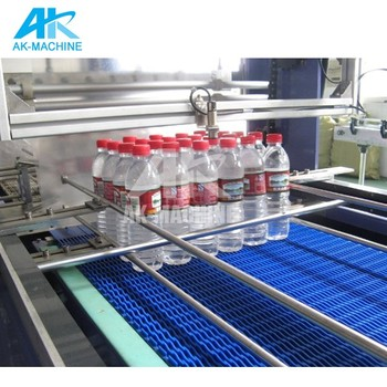 Automatic Shrink Tube Cutting Machine/Plastic Shrink Wrapping Packaging Machine/Mineral Water Bottle Packing Equipment