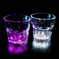 BHN056 New Product Water Liquid Activated LED Plastic Flash Glass