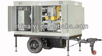 mobile closure Transformer oil purification, transformer oil treatment plant