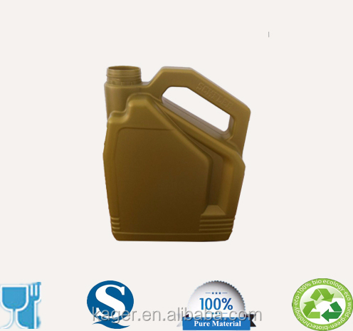 4L Lubricating oil Container /HDPE engine oil barrel