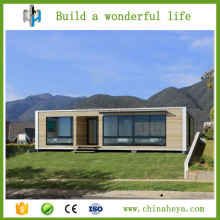 Stable and earthquake resistance flat roof low cost modular kit house