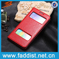 Window view case For Samsung Galaxy S5 Display Case Cover