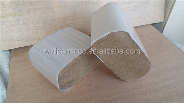 Z fold paper towels for washroom to wash hand