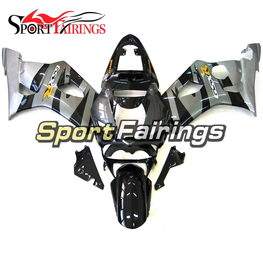 Injection Fairings For Suzuki GSXR1000 K3 03 04 ABS Plastic Complete Motorcycle Fairing Kit Body Kit Fitings Black Grey