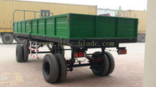 two axles agicultural cart for 40-50hp tractor