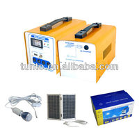 16w solar panel 12ah battery solar electricity generating system for home