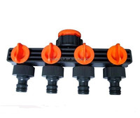 4 Way Garden Water Tap Connector water hose Splitter
