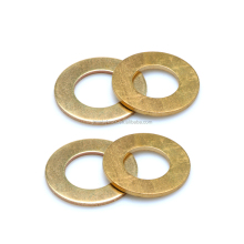 M2 M2.5 M3 M3.5 Yellow Copper Plain Washers/Brass Flat Washers