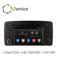 Ownice C300 Quad core android 4.4 car GPS navi for Mercedes Benz R Class R500 built in RDS multimedia WIFI GPS navi