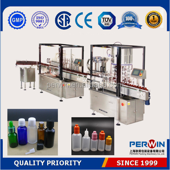 Automatic herbal cough syrup filling capping machine pharmaceutical