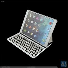 Mini Folding Fold-Up Alloy Wireless Bluetooth Keyboard For IPad air for ipad 5