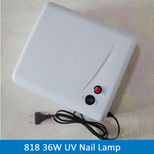UV Lamp 36W Nail Art Dryer Gel Curing Light ,Manicure Drying Fan EU Plug