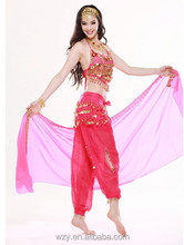 alibaba china chiffon sequin Belly Dance dress sexy indian dance wear