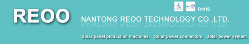 REOO Soldering Strip Cutter used in Solar Panel Manufacturing Line Easy Operation