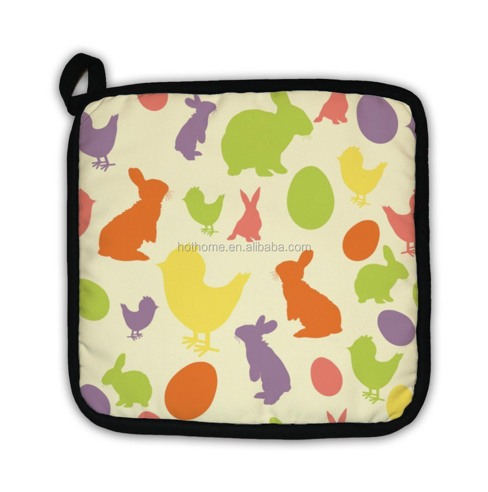 Fabric Promotional Funny Microwave Pot Holder