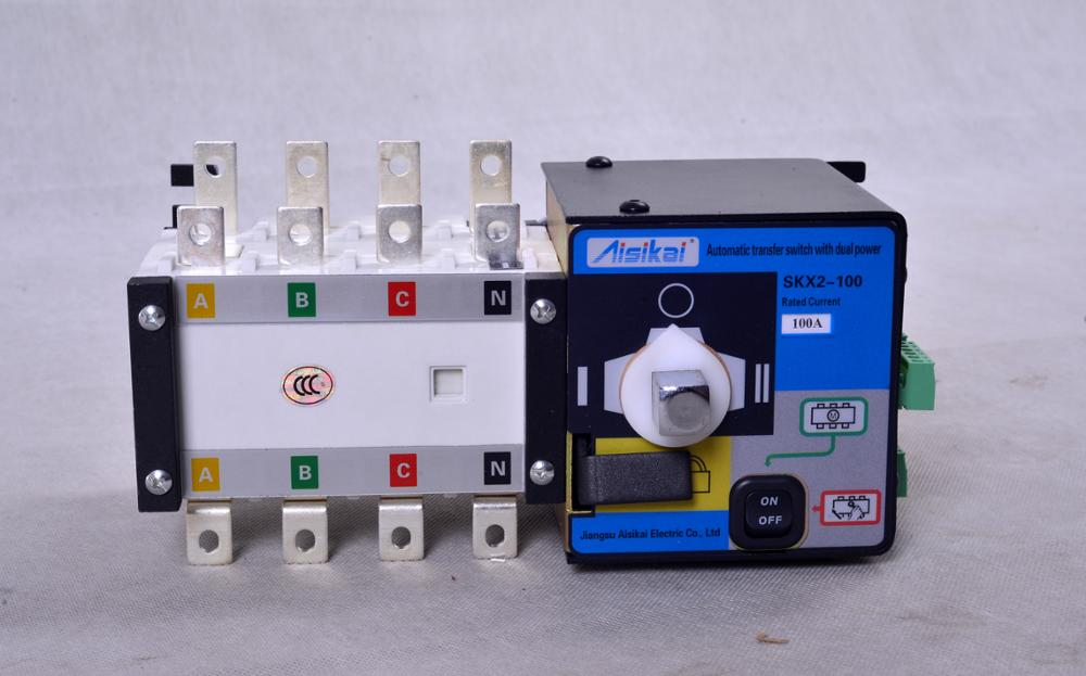 Generator ats controller ats automatic transfer switch 100A