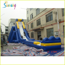 huge commercial inflatable water slide, water trampoline for water park