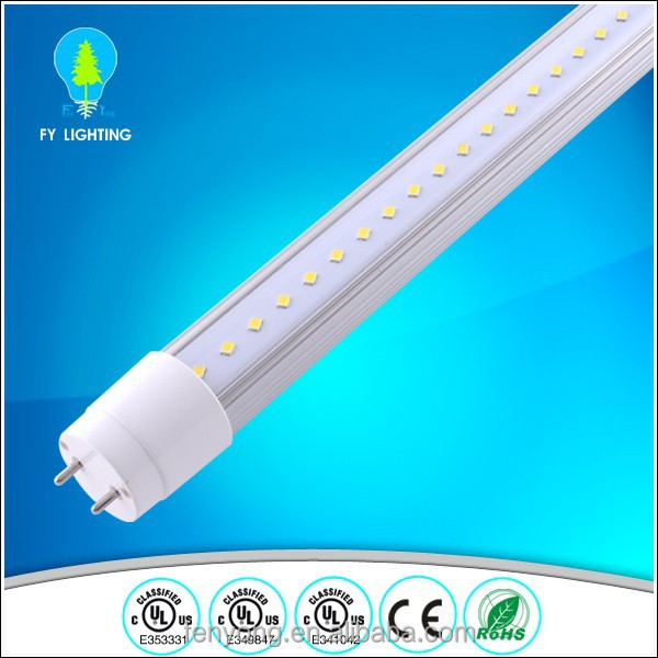 CE ROHS ul cul certified led pink tube t8 2ft/3ft/4ft/5ft/6ft/8ft