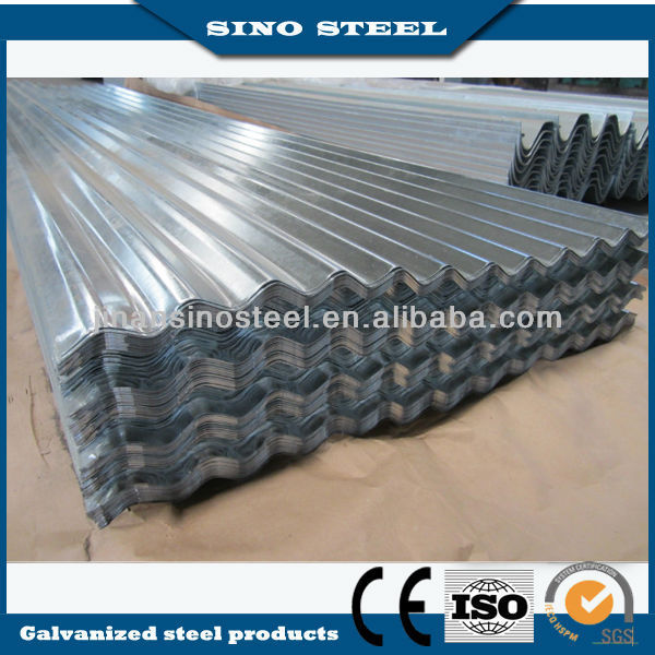 High grade high rib corrugated roofing sheet
