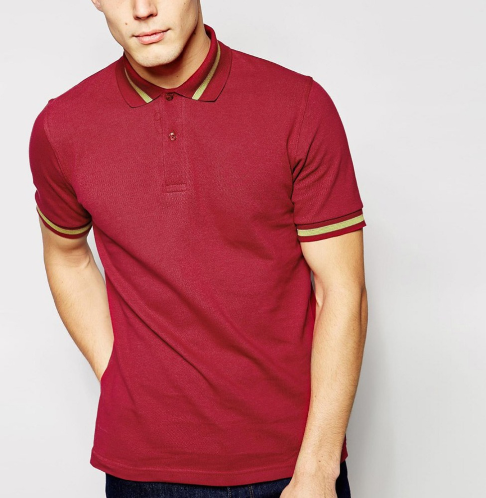 mens polo with logo polo t shirt 220g short sleeve polo shirt