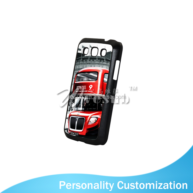 2015 HOT sale Sublimation 2D Plastic Case with Alu Printing Sheet for Samsung Galaxy Win i8552