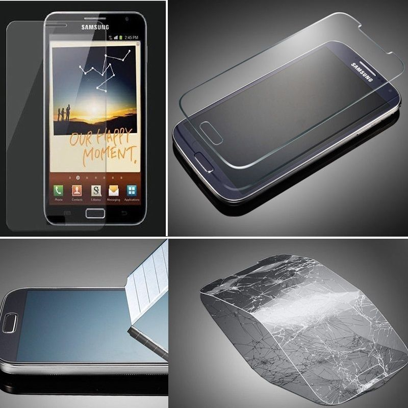 New Saver Guard Premium Tempered 0.2mm Glass Screen Protector film for Samsung i9100 Galaxy S2 S II