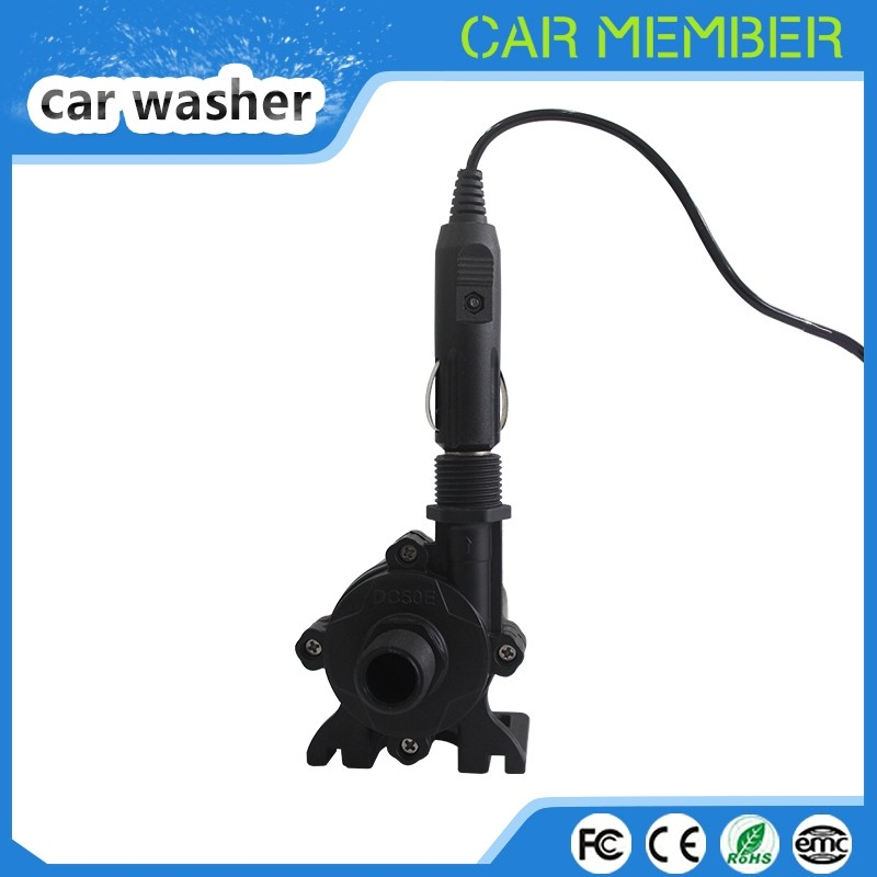 CAR MEMBER wholesale high pressure 12 volt dc car washer pump for car washing, LED light and pumping