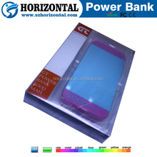 new portable power bank power pack factory directly supply CE/FCC/ROHS high capacity safety for mobile phone pad tablet